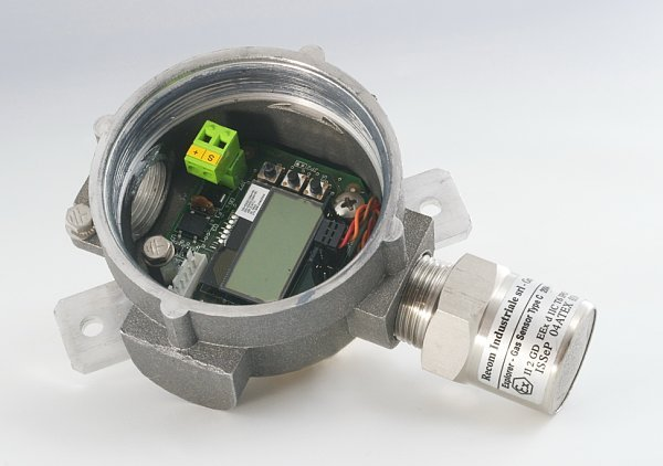 Recom Industriale maritime fixed gas detectors sensors/transmitters, sampling systems, countinuos analyzers and control units